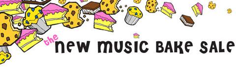 New Music Bake Sale