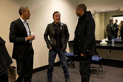Obama, Bruce Sprinsteen & Jay-Z