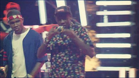 Frank Ocean and Tyler