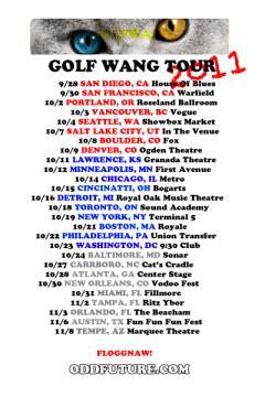 Odd Future tour