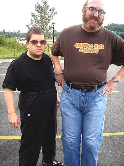 Patton Oswalt and Brian Posehn