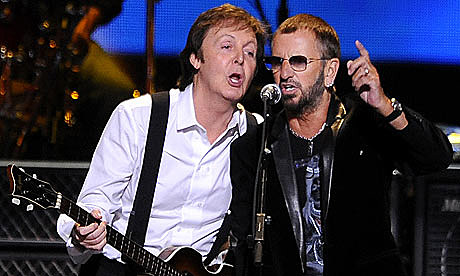 Paul McCartney and Ringo