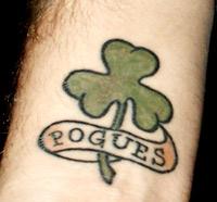 Pogues tattoo
