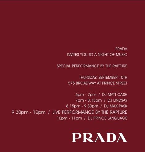 Rapture Prada