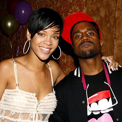 Rihanna and Kanye