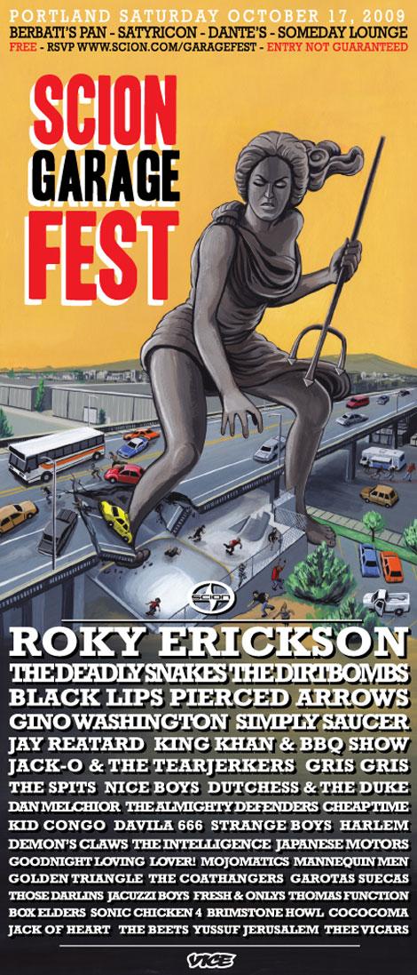 Scion Garage Fest