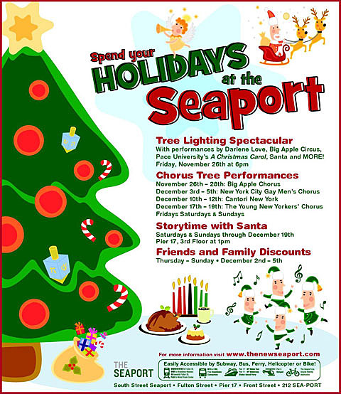Seaport lighting