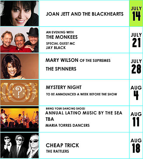 Seaside Concert Series