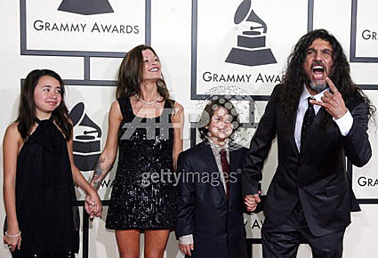Slayer at the Grammys
