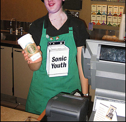 Sonic Youth vs STarbucks