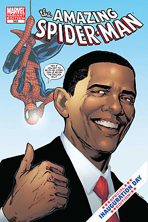 Spiderman Obama