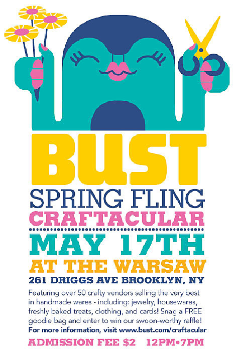 Bust Mag Spring Fling