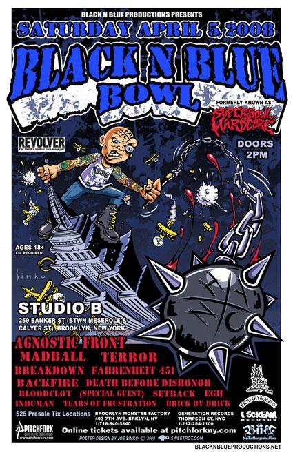 Black & Blue Bowl 2008