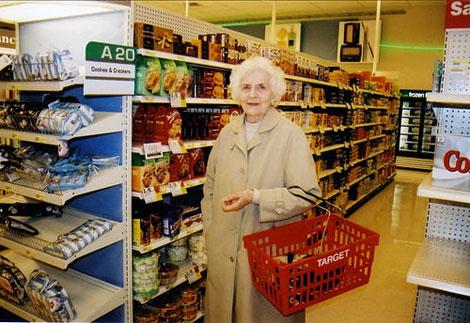 Target shopper