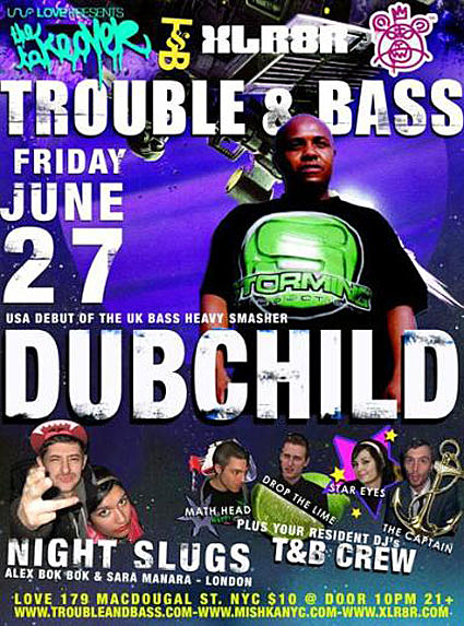 Trouble and bass