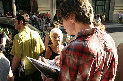 Thurston Moore signing
