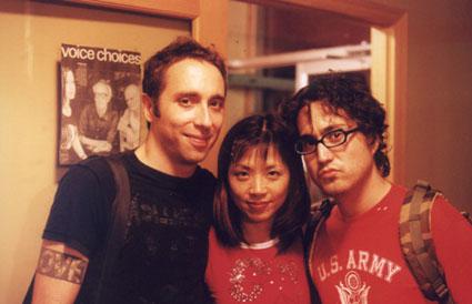 Timo Ellis, Yuka Honda & Sean Lennon