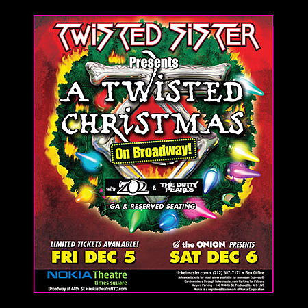Twisted Sister Christmas.Aimee Mann Twisted Sister 2008 Christmas Tour Dates