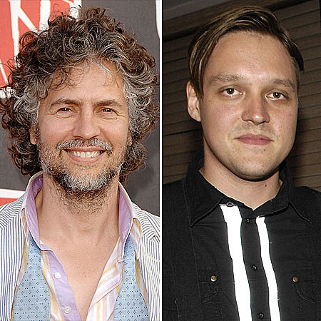 Wayne Coyne and Win Butler