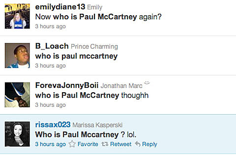 Who is Paul McCartney