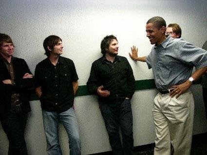 Wilco and Obama