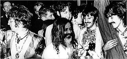 Maharishi and Beatles