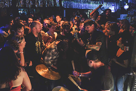 Coachwhips, Destruction Unit, Technicolor Teeth @ Beerland - 3/15/2014 SXSW