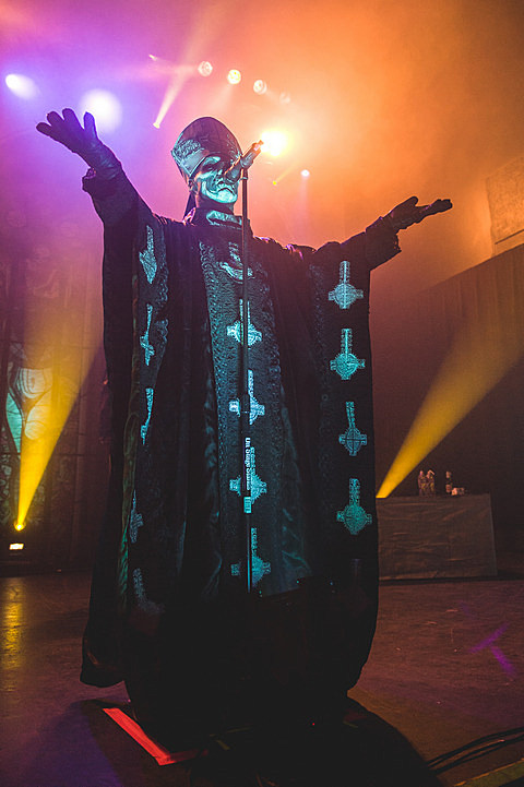 Ghost w/ King Dude @ Emo's - 5/1/2014