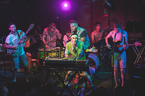 Man Man & Landlady @ The Mohawk - 8/26/2014