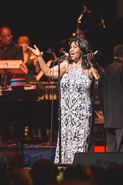 Aretha Franklin @ ACL Live 9/3/2014