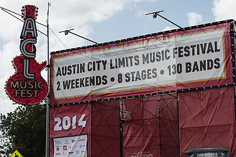 ACL Festival - Weekend 2 - Friday - 10/10/2014
