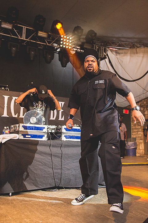 Ice Cube @ Stubb's for Kings of the Mic Tour - 7/2/2013