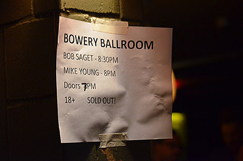 Mike Young @ Bowery Ballroom - 7/19/2013