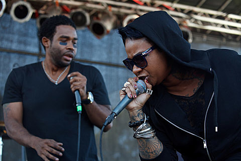 Afropunk Festival @ Commodore Barry Park - 8/24/2013