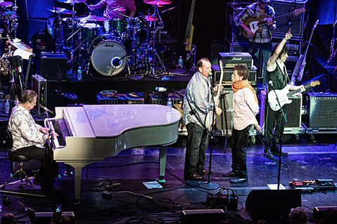 Brian Wilson and Jeff beck