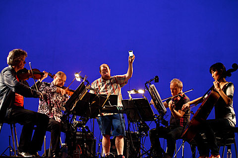 Kronos Quartet @ Lincoln Center - 7/27/2013