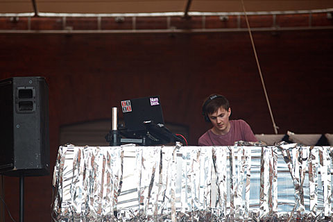 Ben UFO @ MoMA PS1 Warm Up - 7/27/2013