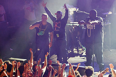 Run The Jewels, El-P, Killer Mike, Despot, Mr. Muthafuckin' eXquire, Kool AD @ Webster Hall - 8/15/2013