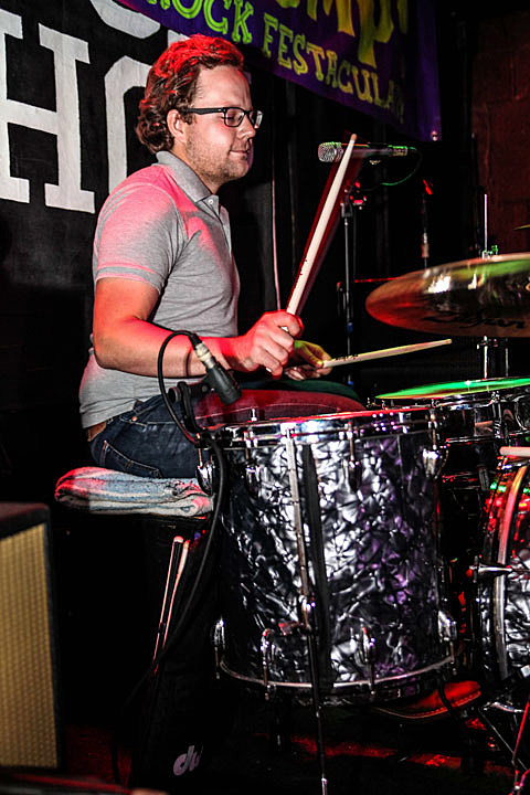The Cambodian Space Project & The Sights @ The Rock Shop - 8/10/2013