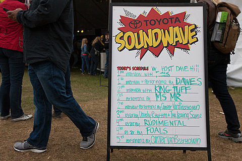 BrooklynVegan SoundWave Tent - Outside Lands 2013