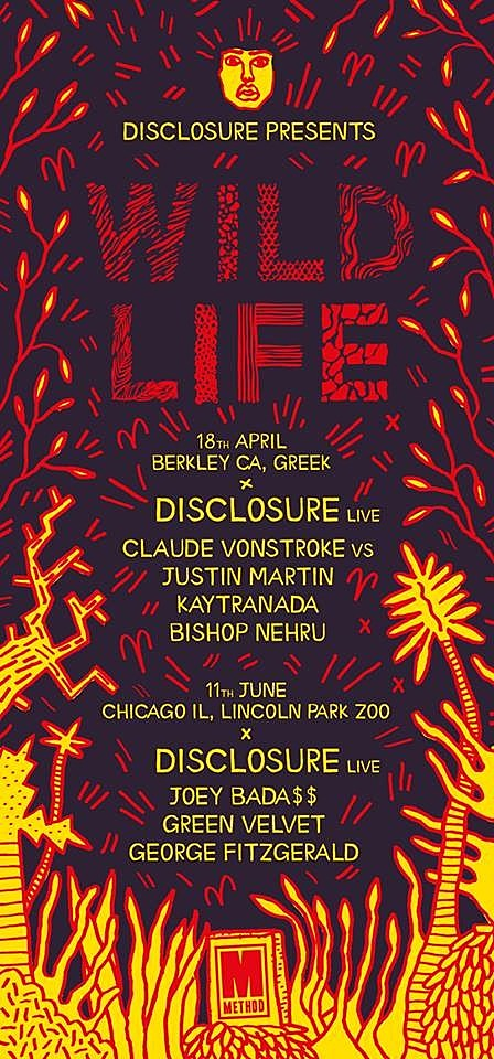 disclosure-wild-life-series-lp
