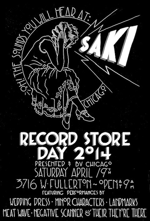 saki-bvchicago-record-store-day-2014